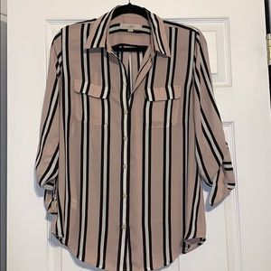 Ann Taylor Loft button down shirt